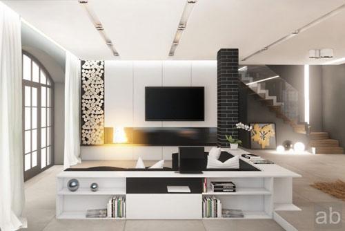 thiết kế phòng khách nổi bậc và ấn tượng