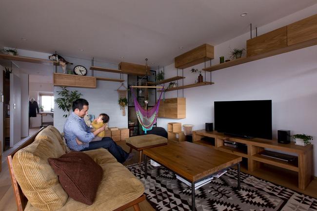Căn hộ phong cách nhật với thiết kế nội thất đầy sáng tạo