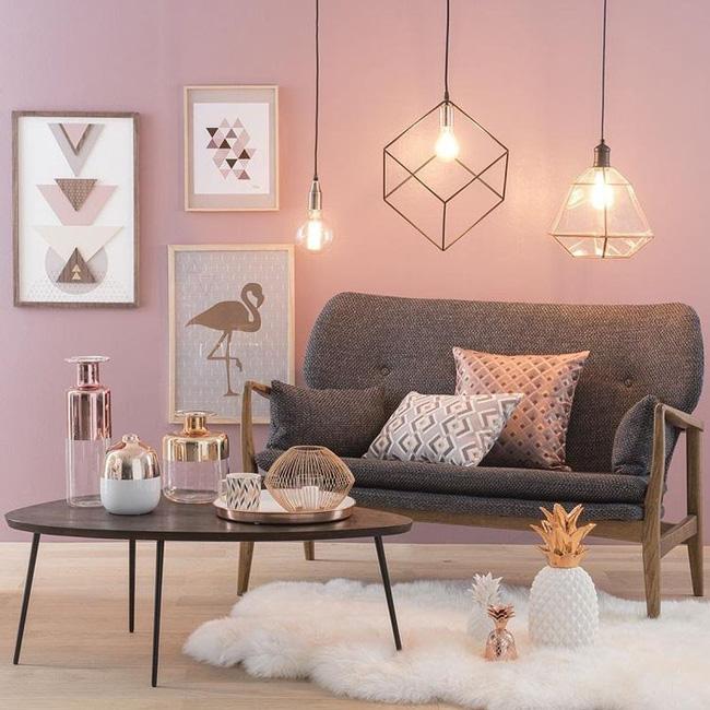 """Đột phá ý tưởng qua thiết kế nội thất lôi cuốn với một sắc thái mới """"đồng - hồng"""""""
